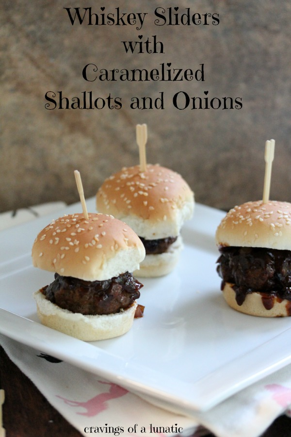 Whiskey Sliders from cravingsofalunatic.com- A simple and delicious recipe for whiskey sliders cooked in a skillet. This recipe will become a family favourite!