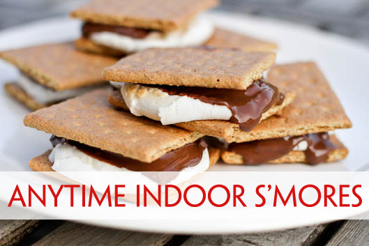Anytime Indoor S'mores by Unsophisticook