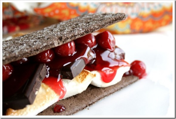 Black Forest S'mores from Doughmesstic