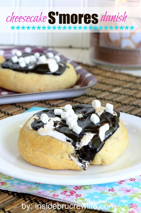 Cheesecake S'mores Danish by Inside BluCrew Life