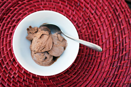 Homemade Chocolate Ice Cream by This Week For Dinner