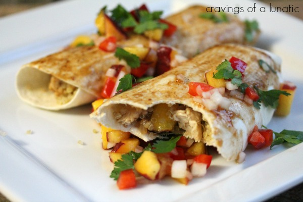 Lightened Up Enchiladas by Cravings of a Lunatic