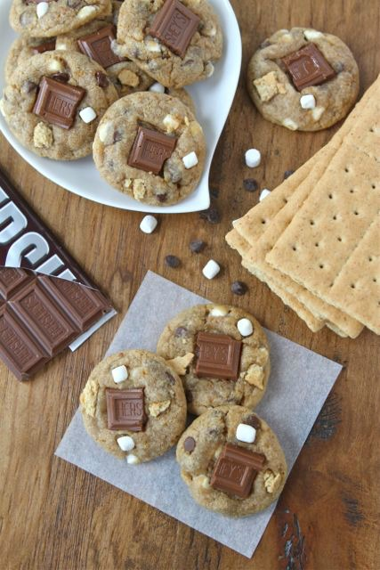 Mini S'mores Cookies by Two Peas and their Pod