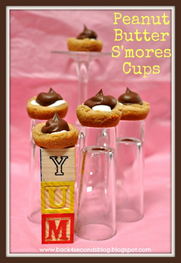Peanut Butter S'mores Cups by Back for Seconds
