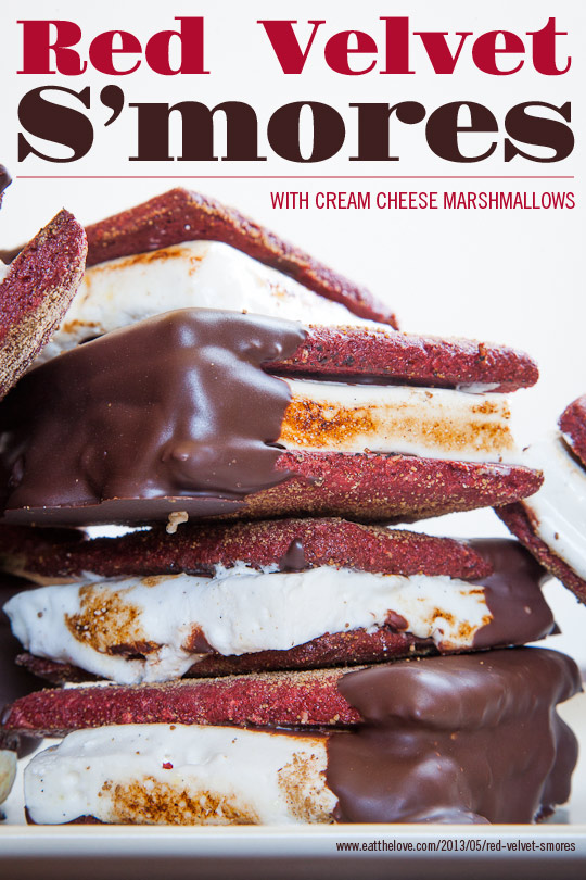 Red Velvet S'mores by Eat The Love