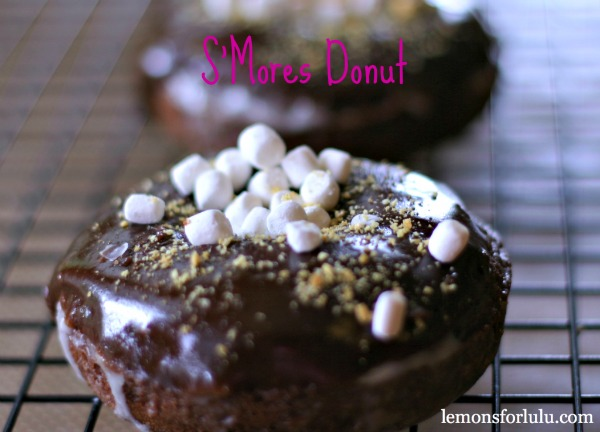 S'mores Chocolate Donut by Lemons for Lulu