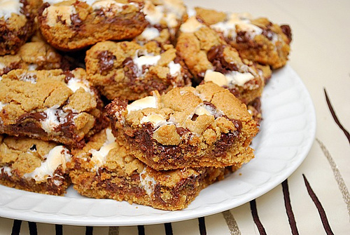 S'mores Cookie Bars by What's Cookin' Chicago