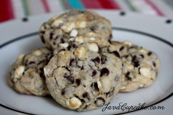 Mini S'mores Cookies by Java Cupcake