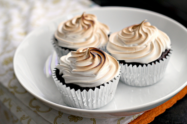 S'mores Cupcakes by Eats Well With Others