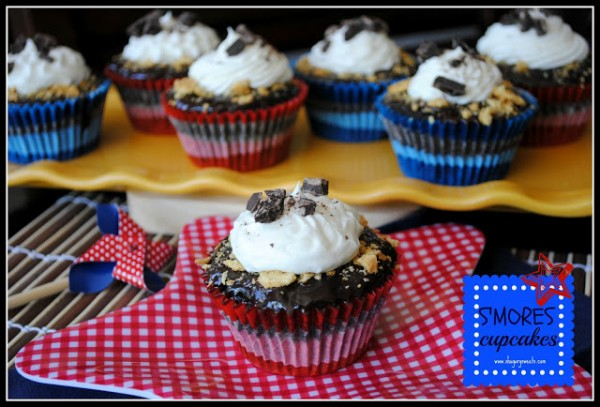 S'mores Cupcakes by Shugary Sweets