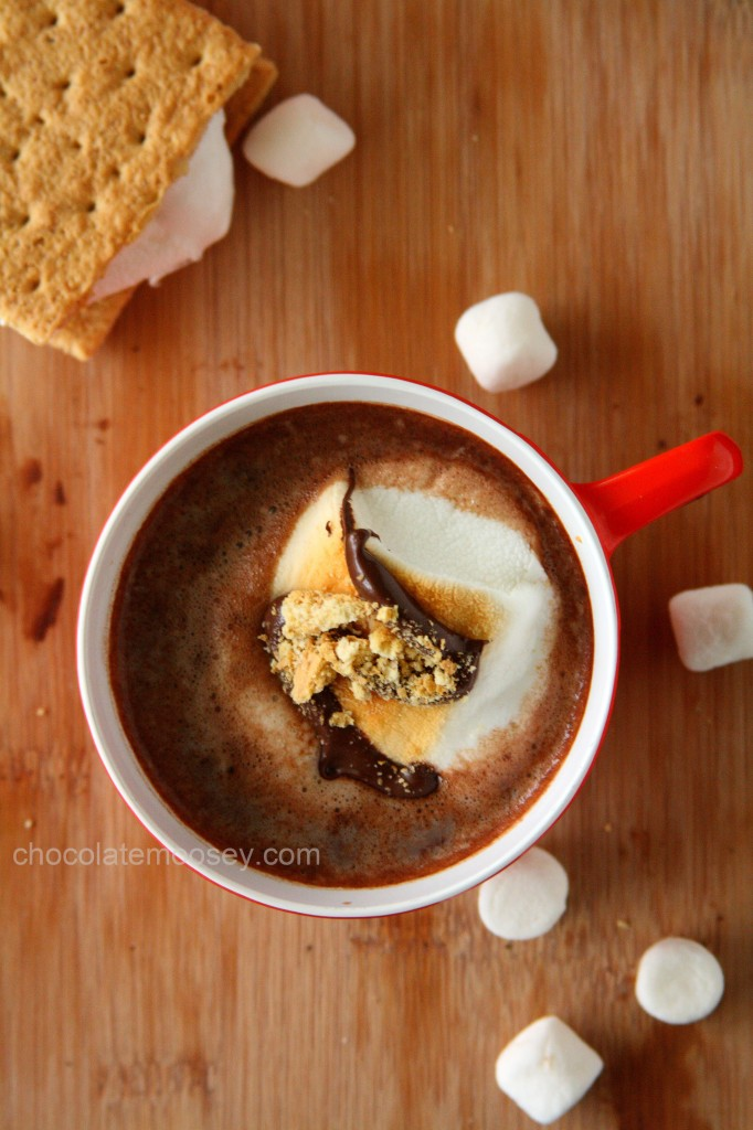 S'mores Hot Cocoa by Chocolate Moosey