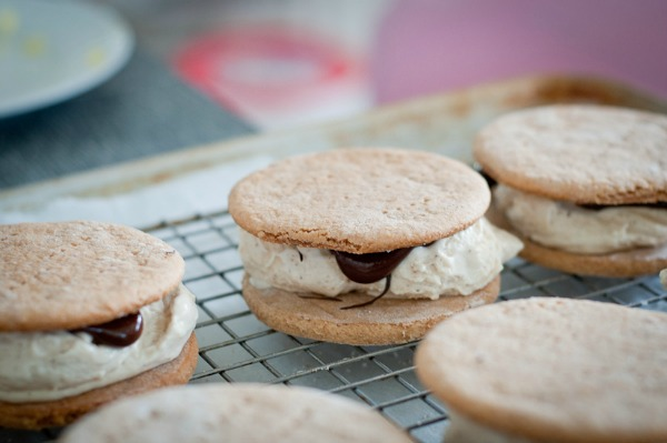 S'mores Ice Cream Sandwiches by Cafe Johnsonia