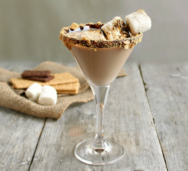 S'mores Martini by Hungry Couple