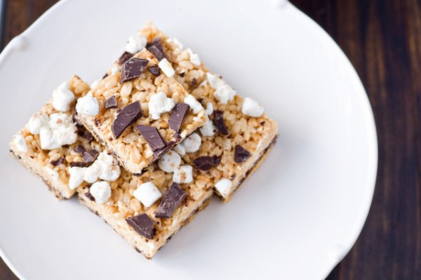 S'mores Rice Krispie Treats by Cook Like a Champion