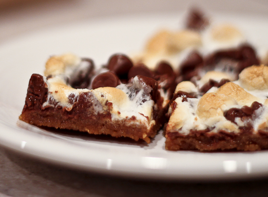 The Perfect S'mores Bars by The Spiced Life