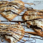 Turtles Hand Pies | Cravings of a Lunatic | #turtles #chocolate #caramel #pie #handpies