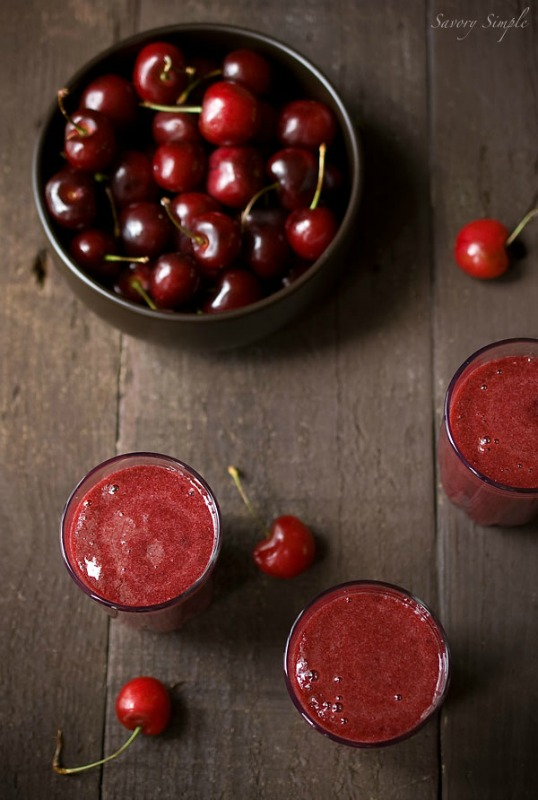 Cherry Gazpacho by Savory Simple