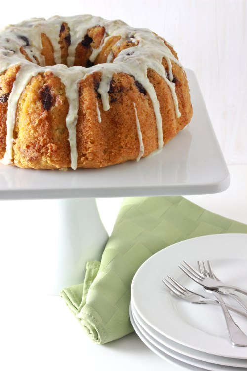 Cherry Lime Bundt Cake by Tales of an Overtime Cook