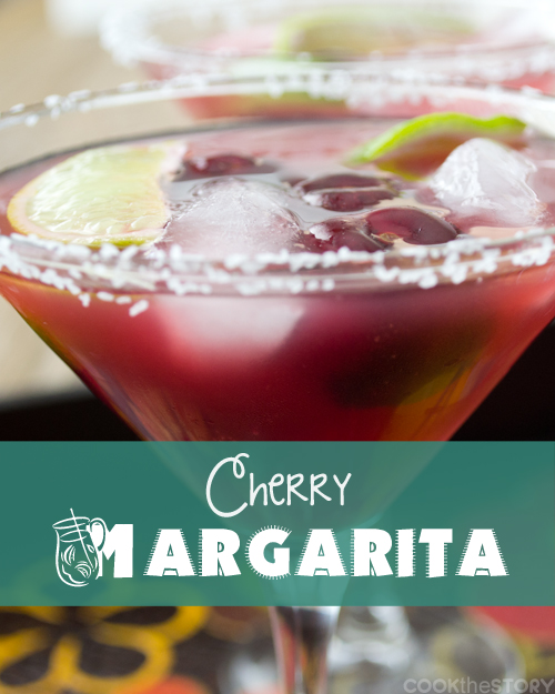 Cherry Margarita by Cook the Story