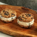 Cookie Dough Ice Cream Sandwiches | Cravings of a Lunatic | Absolutely delicious cookie dough ice cream sandwiches that are incredibly easy to make!