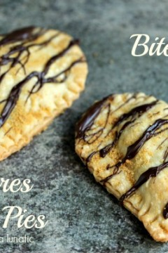 S'mores Hand Pies | Cravings of Lunatic | #smores #chocolate #marshmallows #minipies