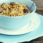 Spicy Chipotle Skillet Corn with Bacon #BaconMonth