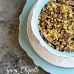 Spicy Chipotle Skillet Corn with Bacon