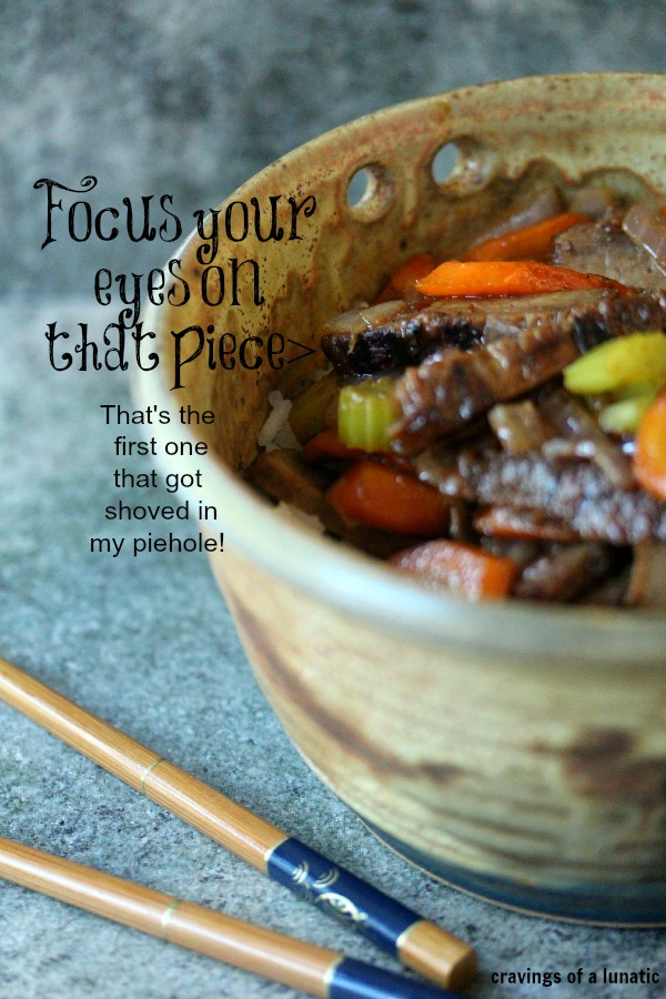 Beef Stir Fry   Cravings of a Lunatic   #beef #stirfry #leftovers #dinner #recipe #easyrecipe