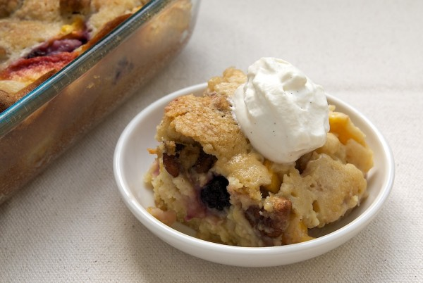 Blackberry Peach Cobbler by Bake or Break