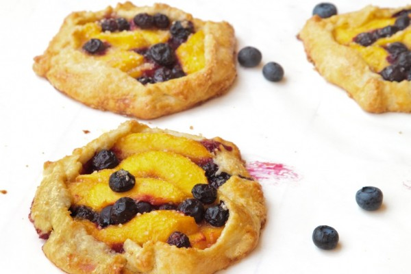 Blueberry Peach Crostata by A Culinary Journey with Chef Dennis