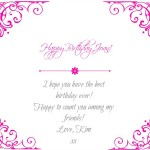 Happy Birthday Bloggy Friends Giveaway