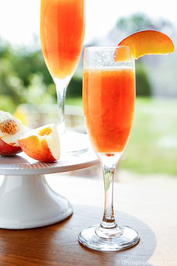 Peach Bellini by Unsophisticook