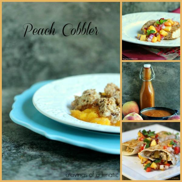 Peach Recipe Round Up   Cravings of a Lunatic   #peach #recipes #fruit