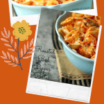 Roasted Red Pepper Pasta collage image