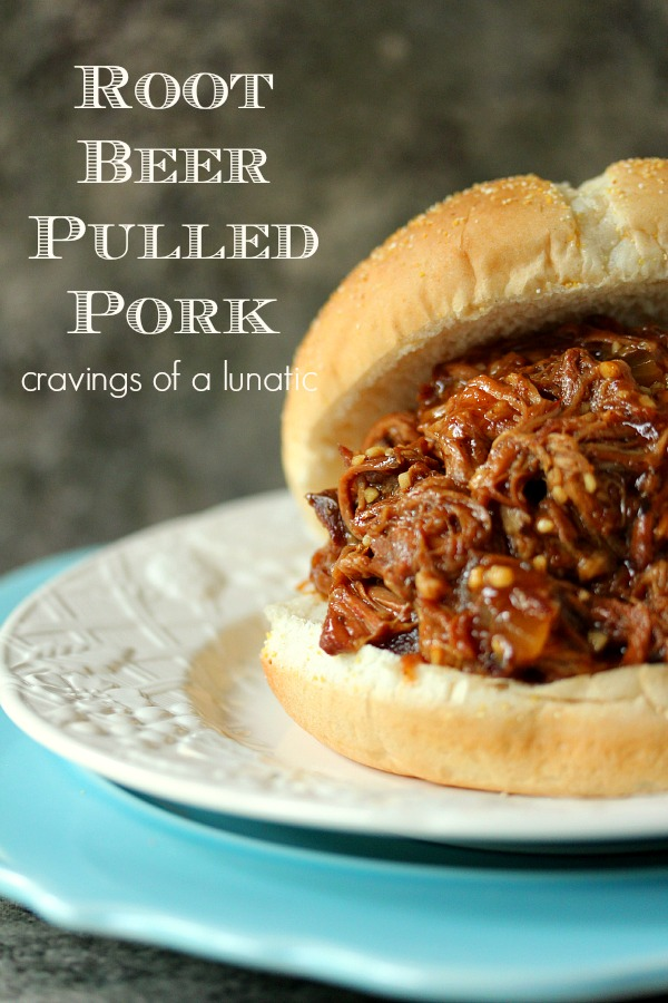 Root Beer Pulled Pork | Cravings of a Lunatic | Simple recipe to make Root Beer Pulled Pork in your Slow Cooker.