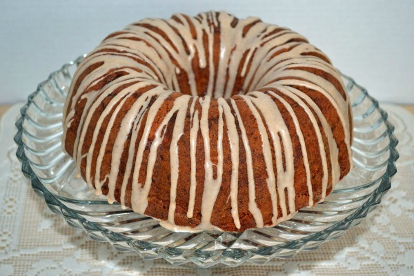 Southern Sweet Potato Peach Cake by Simply Southern Baking