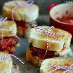 Mini Meatloaf Sandwiches with Red Pepper Pesto | Cravings of a Lunatic | Perfect for game day!