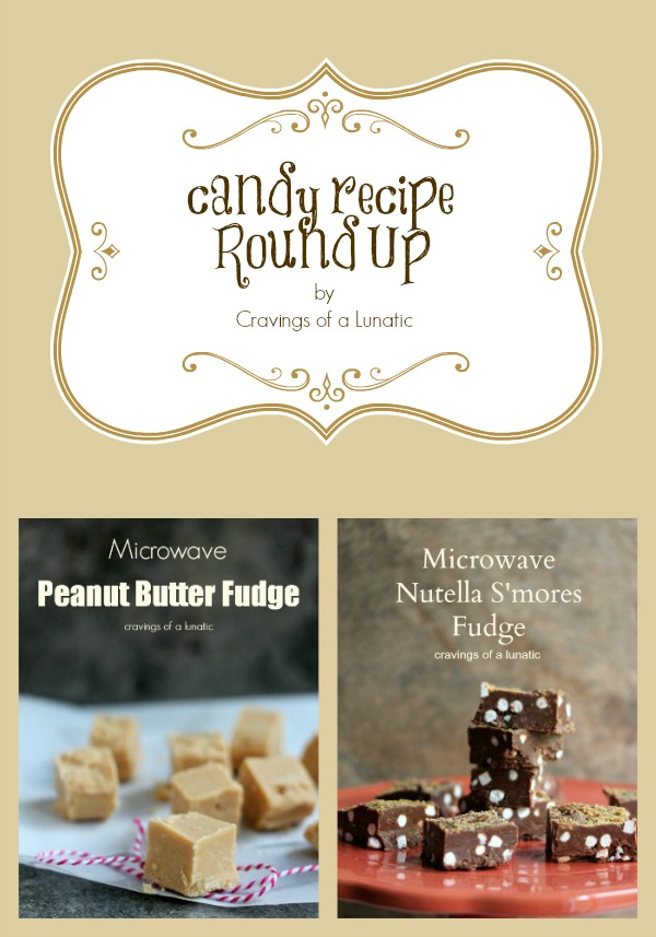 Candy Recipe Round Up by Cravings of a Lunatic | 20 Amazing Candy Recipes from lots of fabulous bloggers. Check this out today!