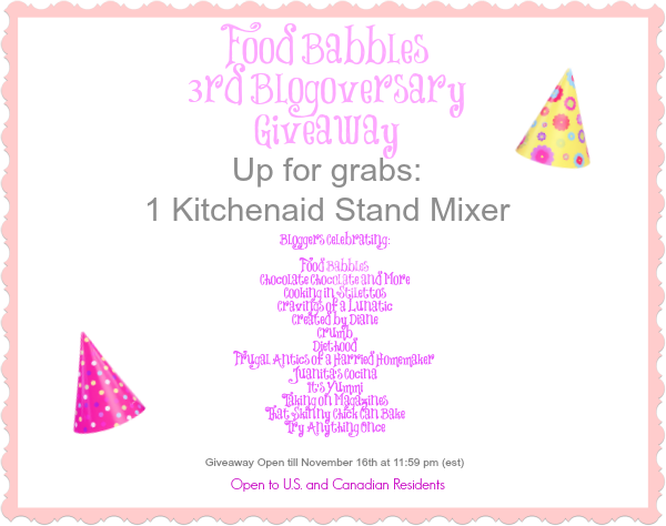 Food Babbles Giveaway