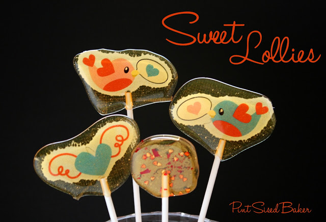Microwaved Hard Candy Lollipops by Pint Sized Baker