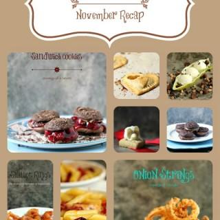 November Recap from Cravings of a Lunatic