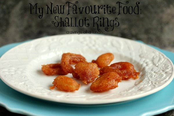 Shallot Rings | Cravings of a Lunatic | Seriously easy to make and wildly addictive. A must try!