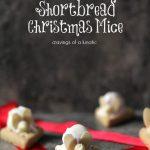 Shortbread Christmas Mice