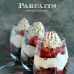 Strawberry Brownie Parfaits