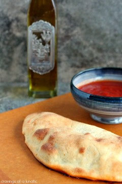 Homemade Calzones for Festivus | Cravings of a Lunatic | Easy to make and absolutely delicious. You'll never order out again.