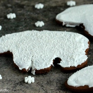 Ginger Bears | Cravings of a Lunatic | Cute little gingerbread polar bears. Cute and festive!