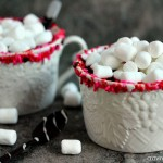 Red Velvet Hot Chocolate | Cravings of a Lunatic | Simple to make, delightful to sip!