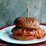 Sloppy Black Eyed Peas | Cravings of a Lunatic | This is a wonderful slow cooker recipe for Vegan Sloppy Joes. It's a real crowd please