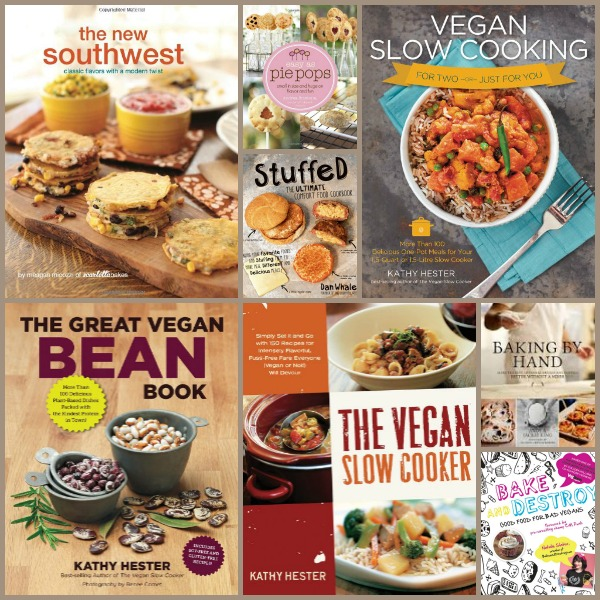 Appetizer Week Cookbook Giveaway Collage #2 | Cravings of a Lunatic | One winner takes ALL 21 cookbooks.  Good luck!