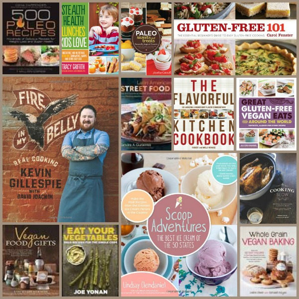 Appetizer Week Cookbook Giveaway Collage #2   Cravings of a Lunatic   One winner takes ALL 21 cookbooks.  Good luck!